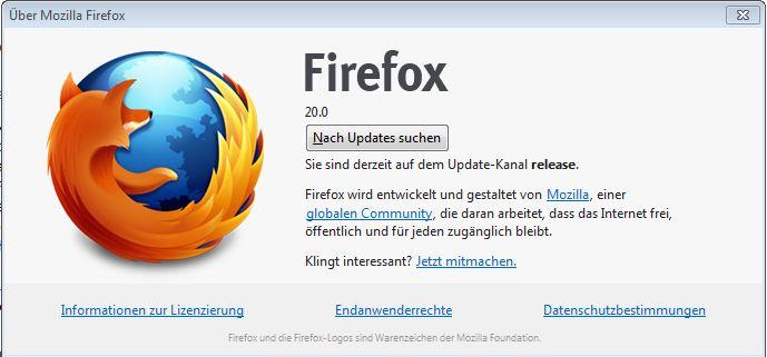 Firefox 20.0
