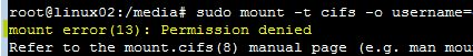 Ubuntu 14.04 mount error